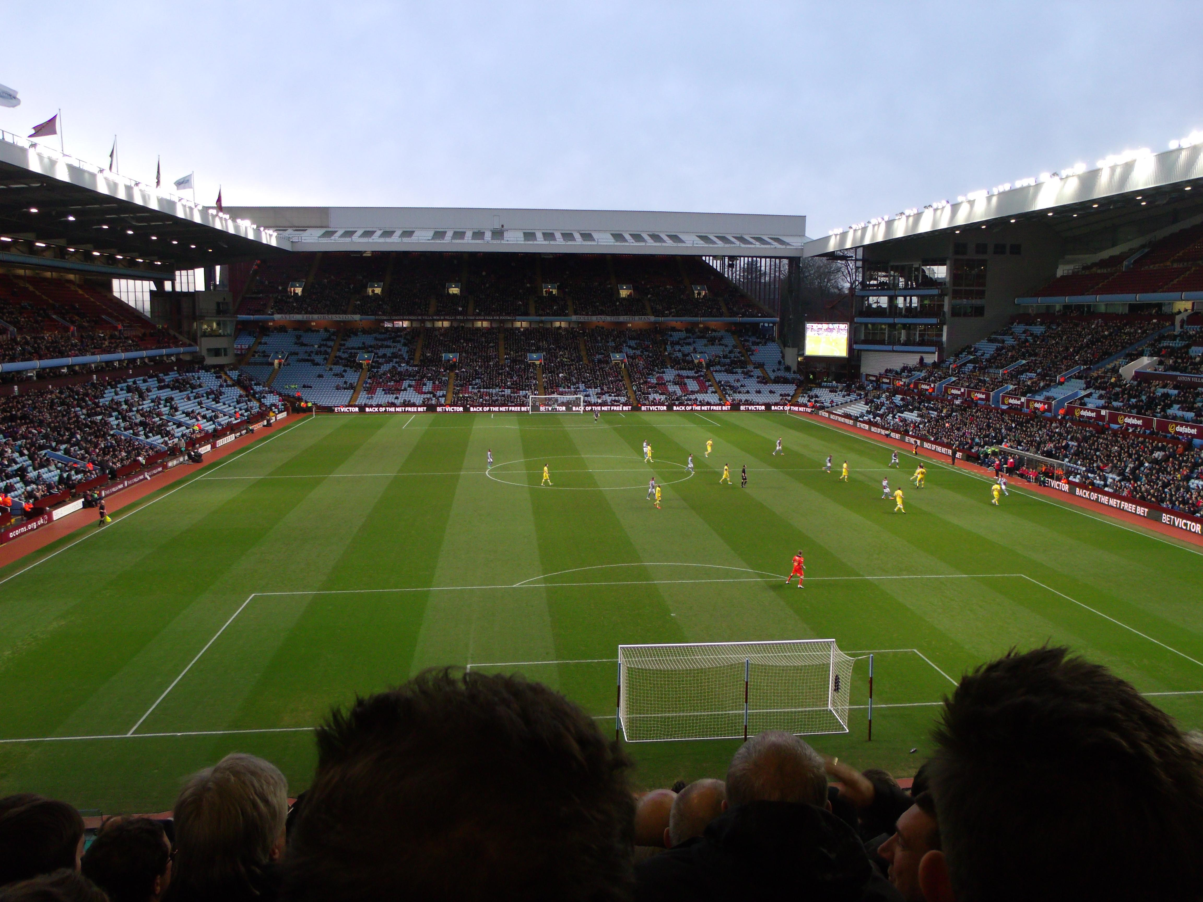 Villa Park Section T3 Row L Seat 83