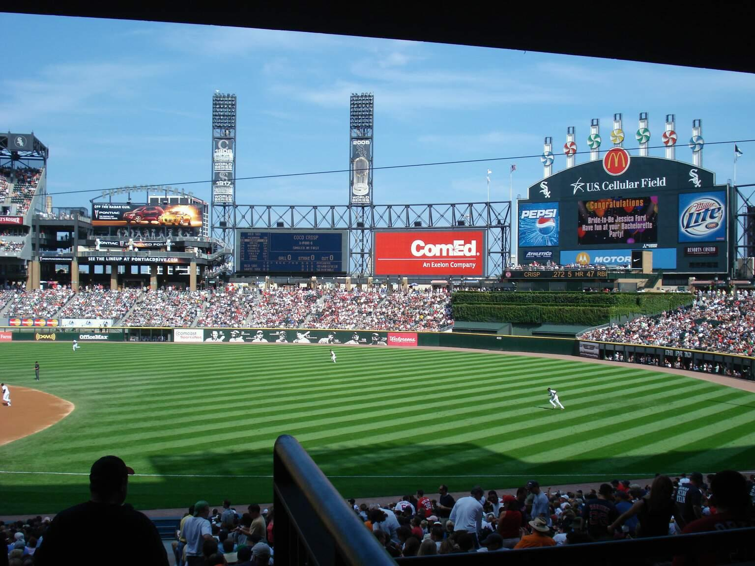 Guaranteed Rate Field Section 116 Row 36 Seat 1
