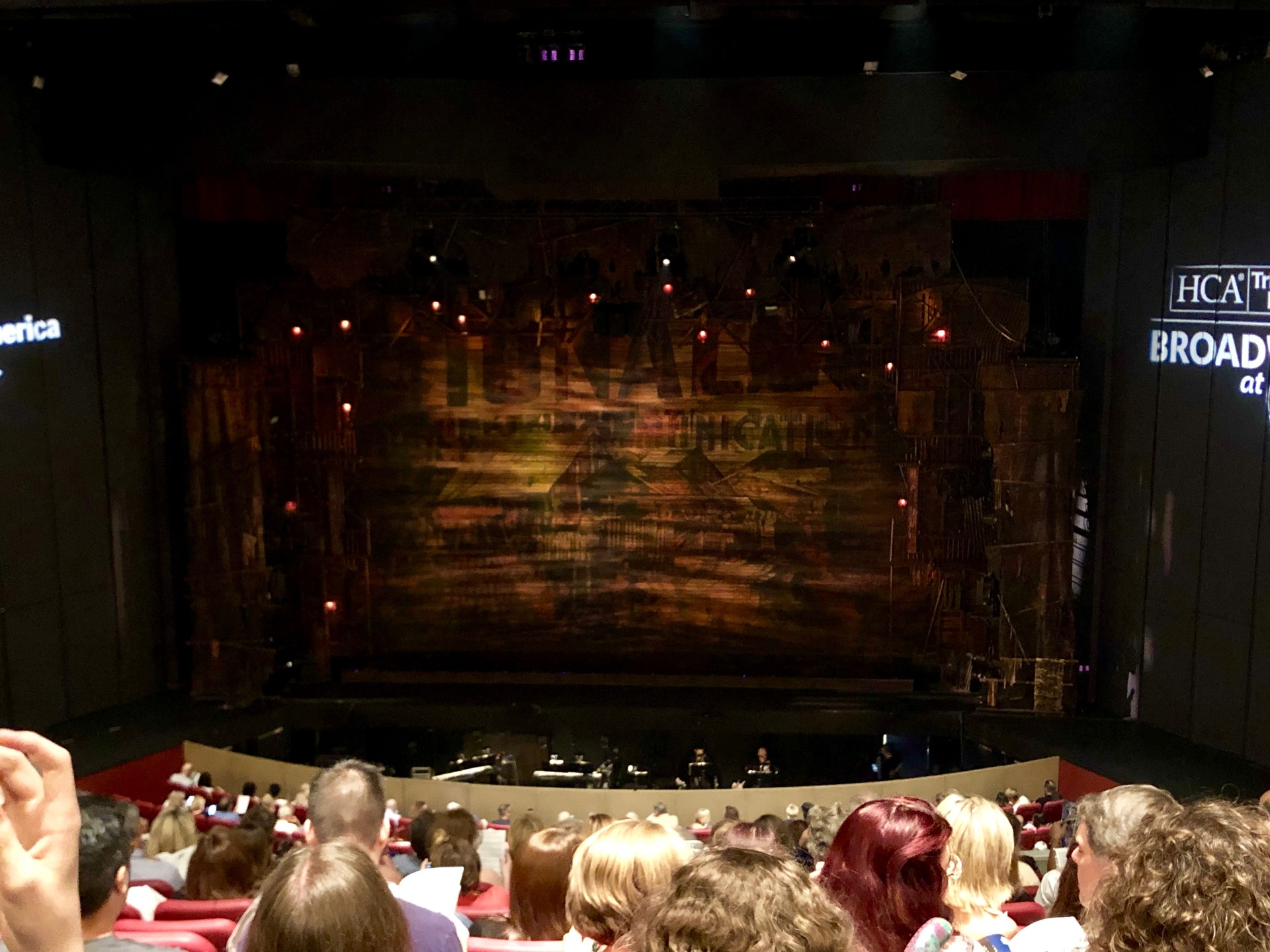 Andrew Jackson Hall Section Grand Tier Center Row K Seat 25