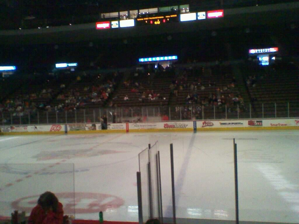 Heritage Bank Center Section 112 Row G Seat 8