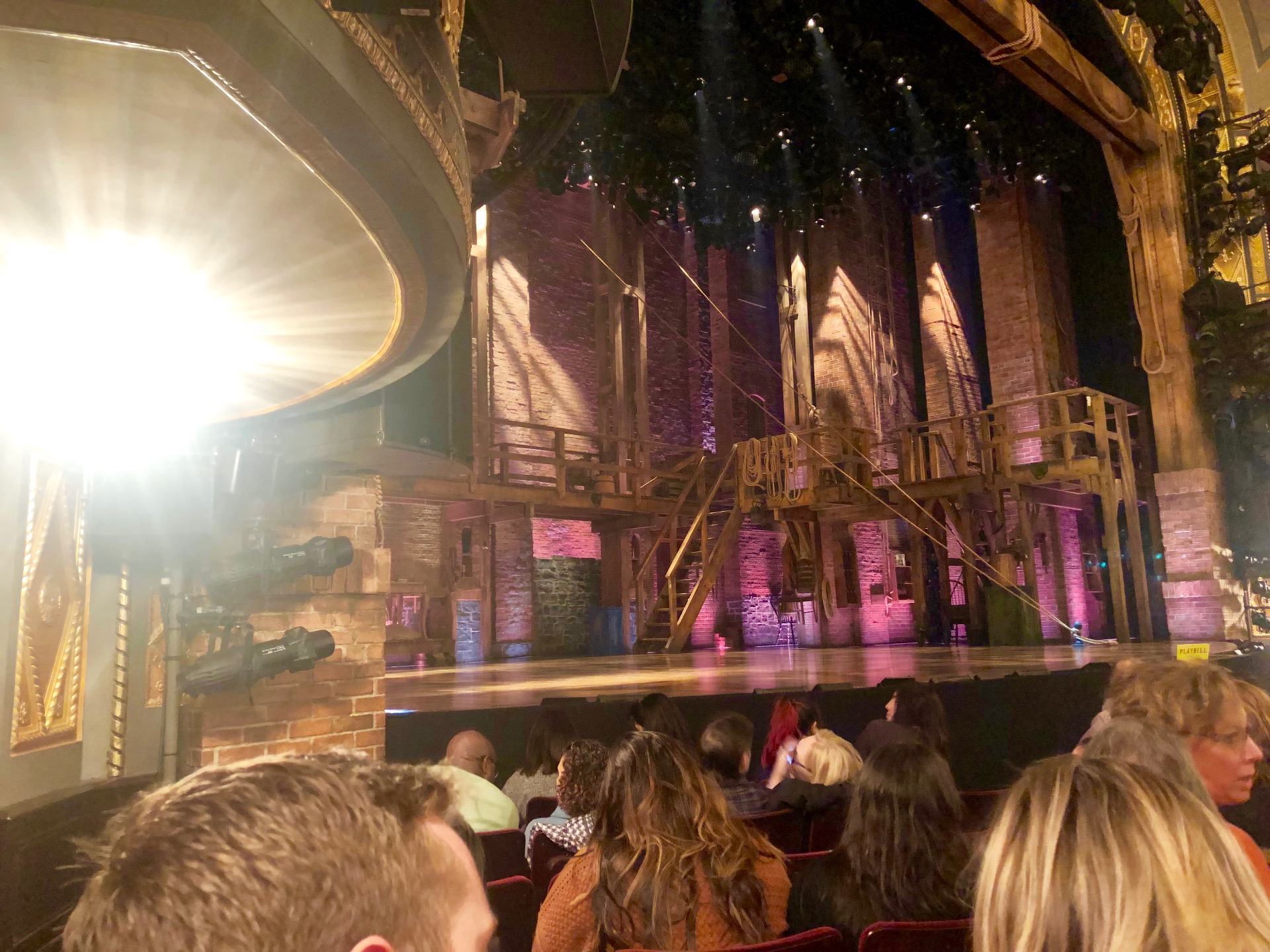 Richard Rodgers Theatre Section Orchestra L Row F Seat 21
