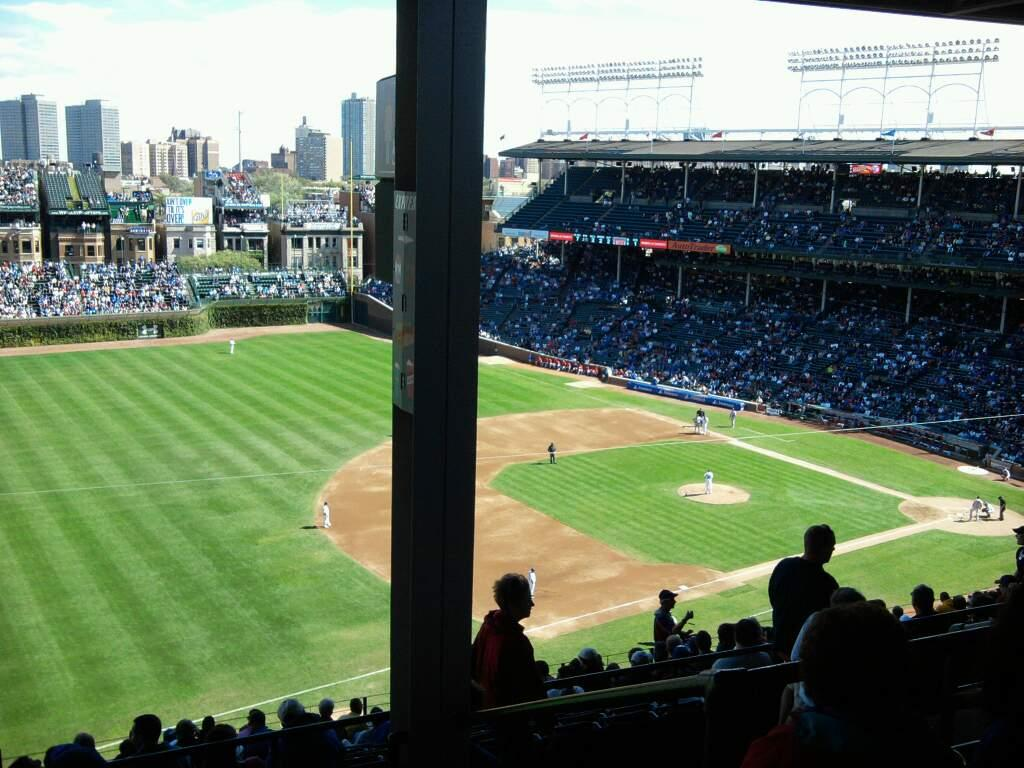 Wrigley Field Section 407L Row 5 Seat 20