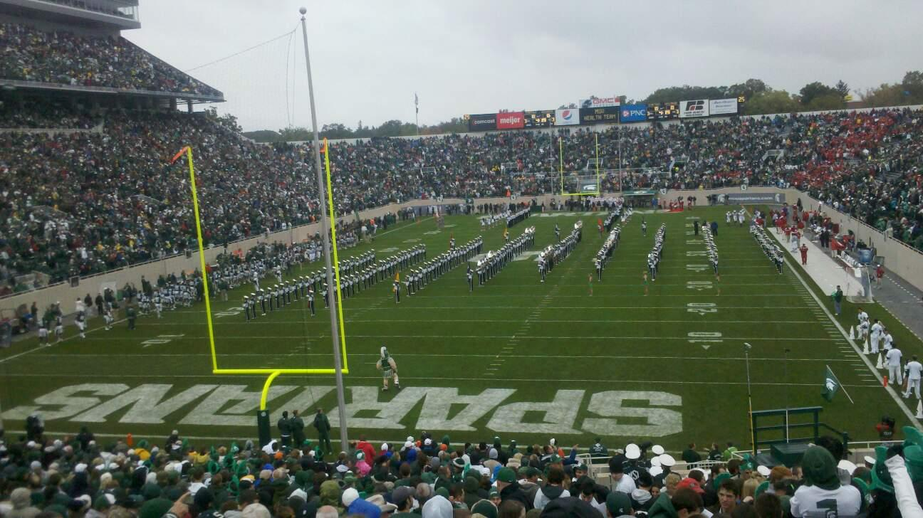 Spartan Stadium Section 15 Row 39 Seat 40