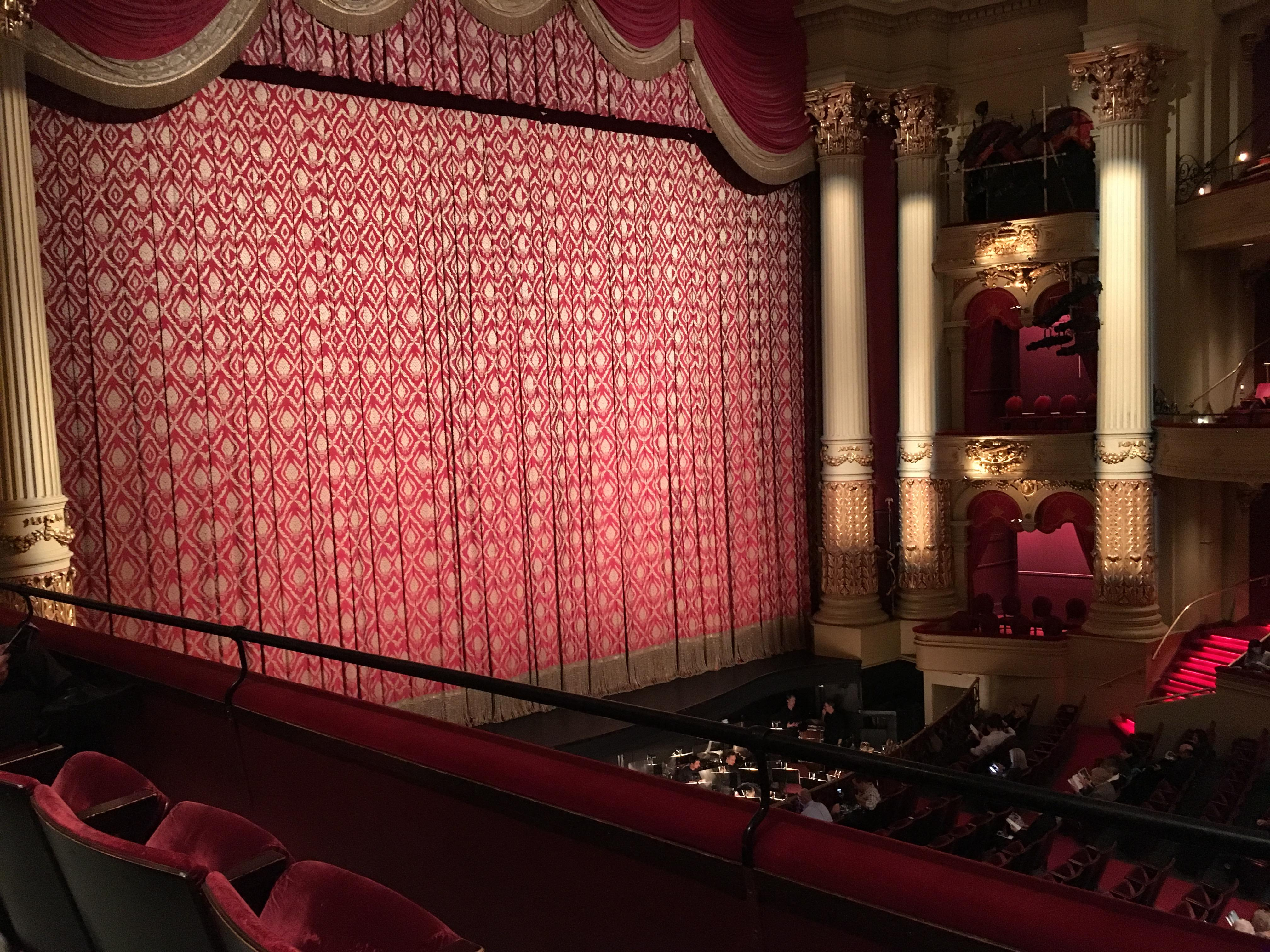 Academy of Music Section Balcony H Row BB Seat 5