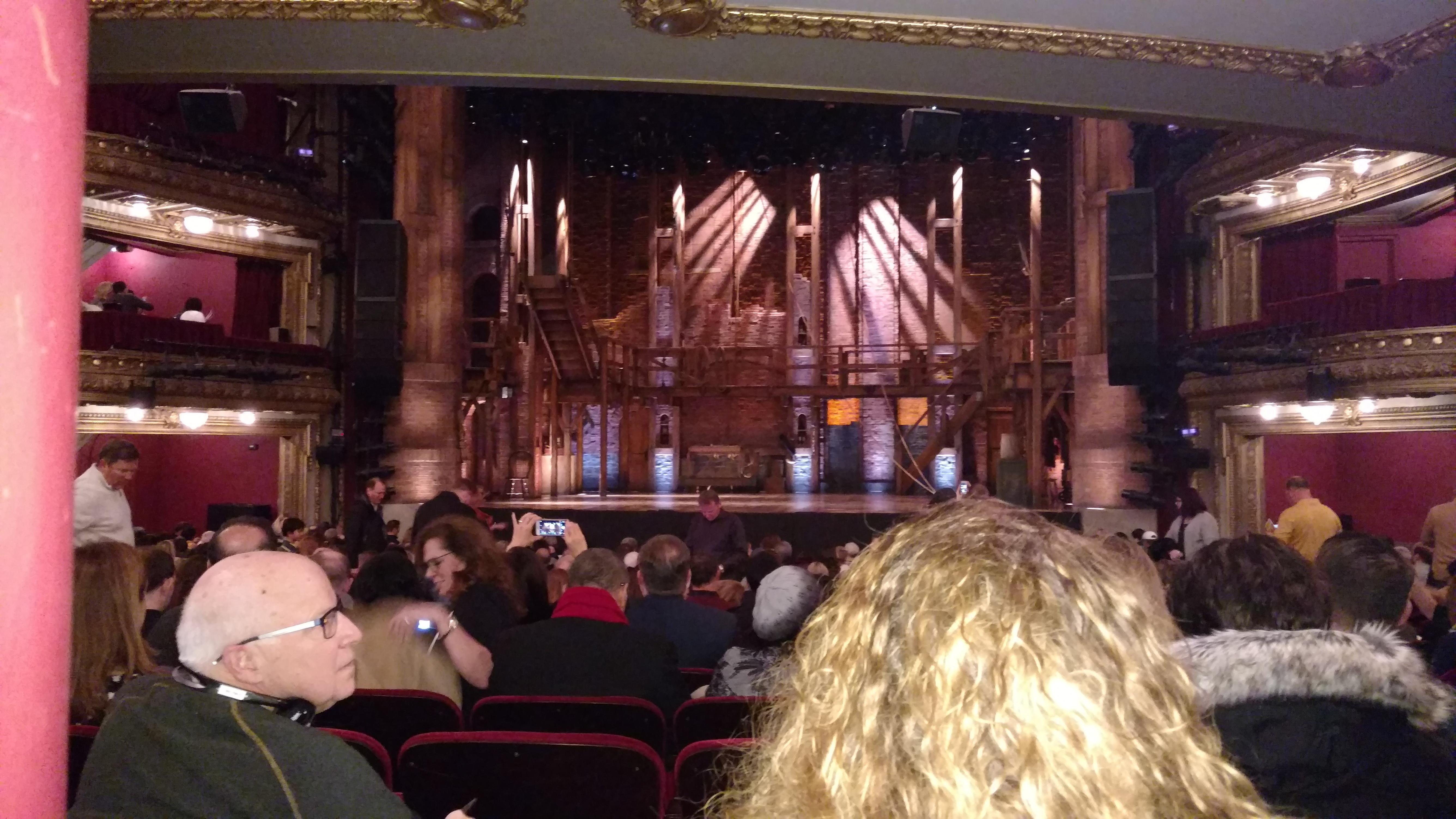 CIBC Theatre Section Orchestra C Row W Seat 116