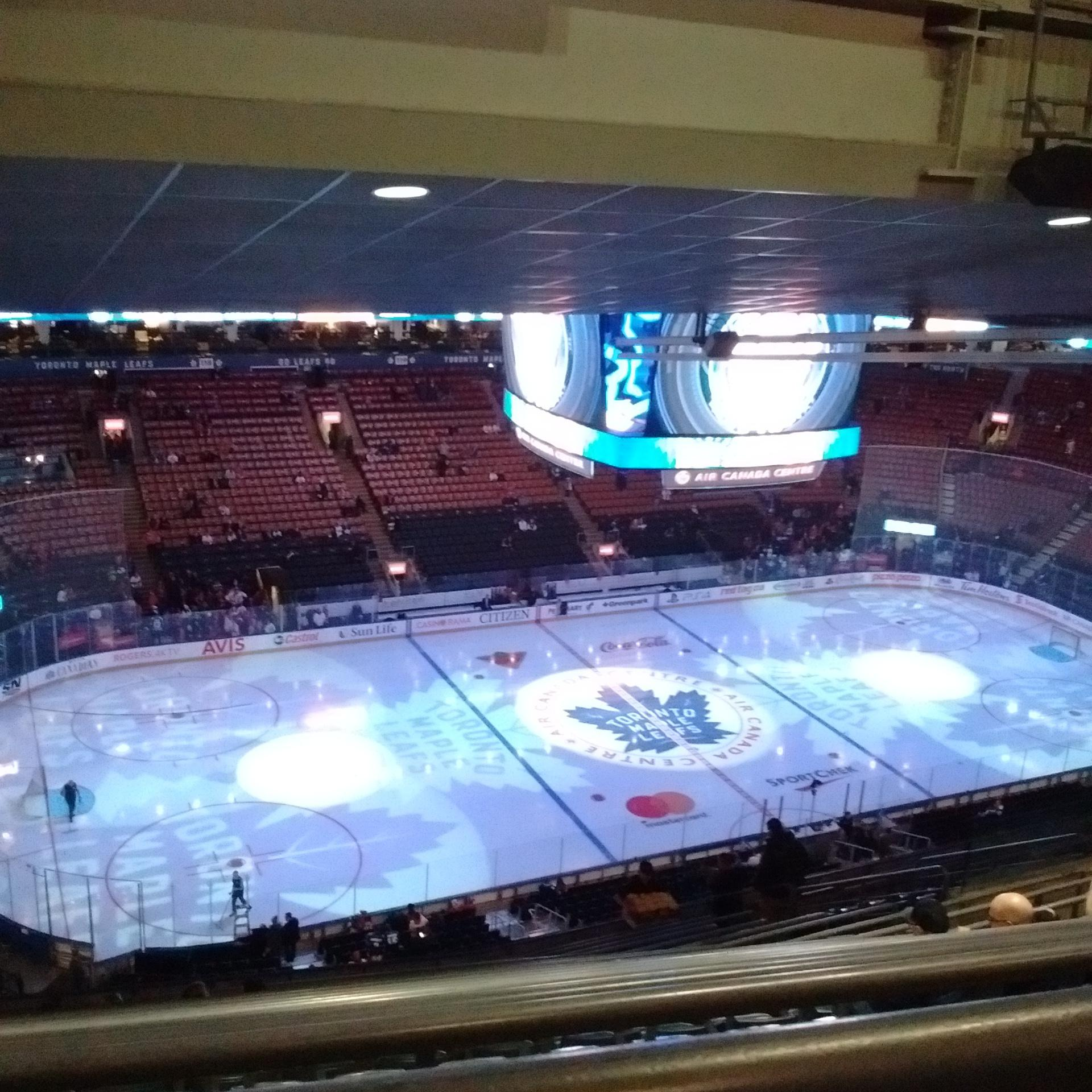Scotiabank Arena Section 311 Row 17