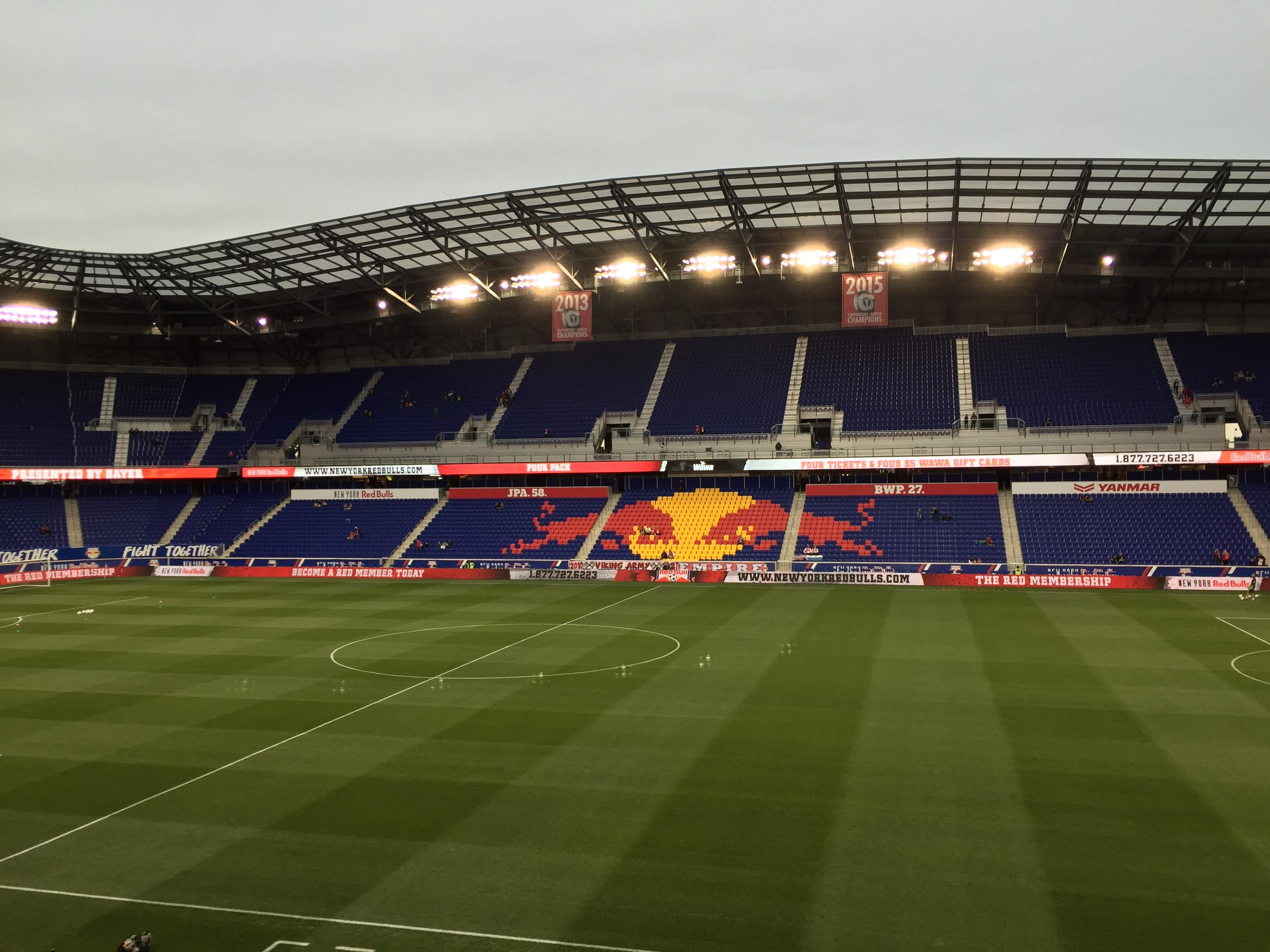 Red Bull Arena (New Jersey) Section 110 Row 16 Seat 15