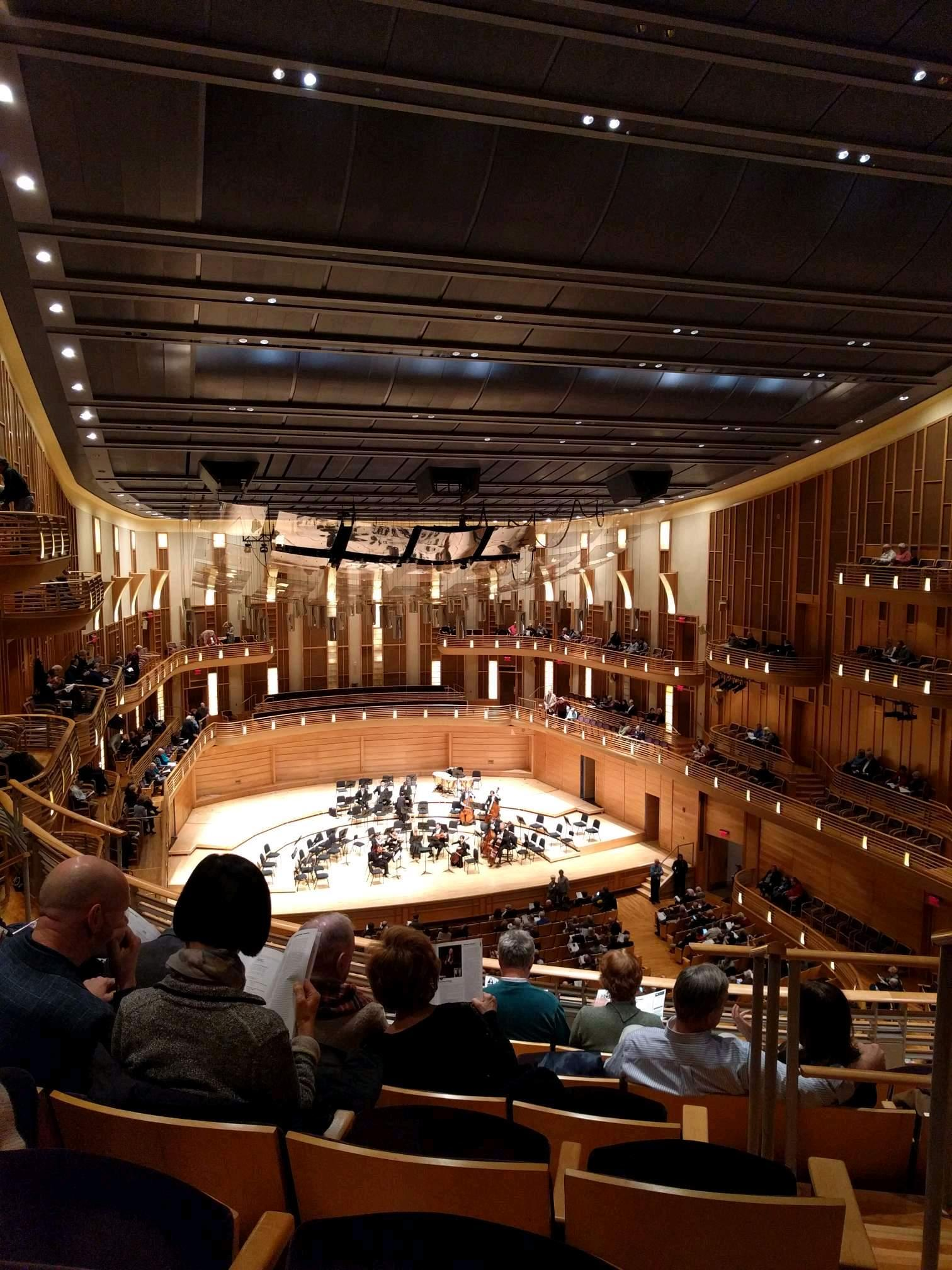 The Music Center at Strathmore Section Grand Tier Left Row F Seat 3