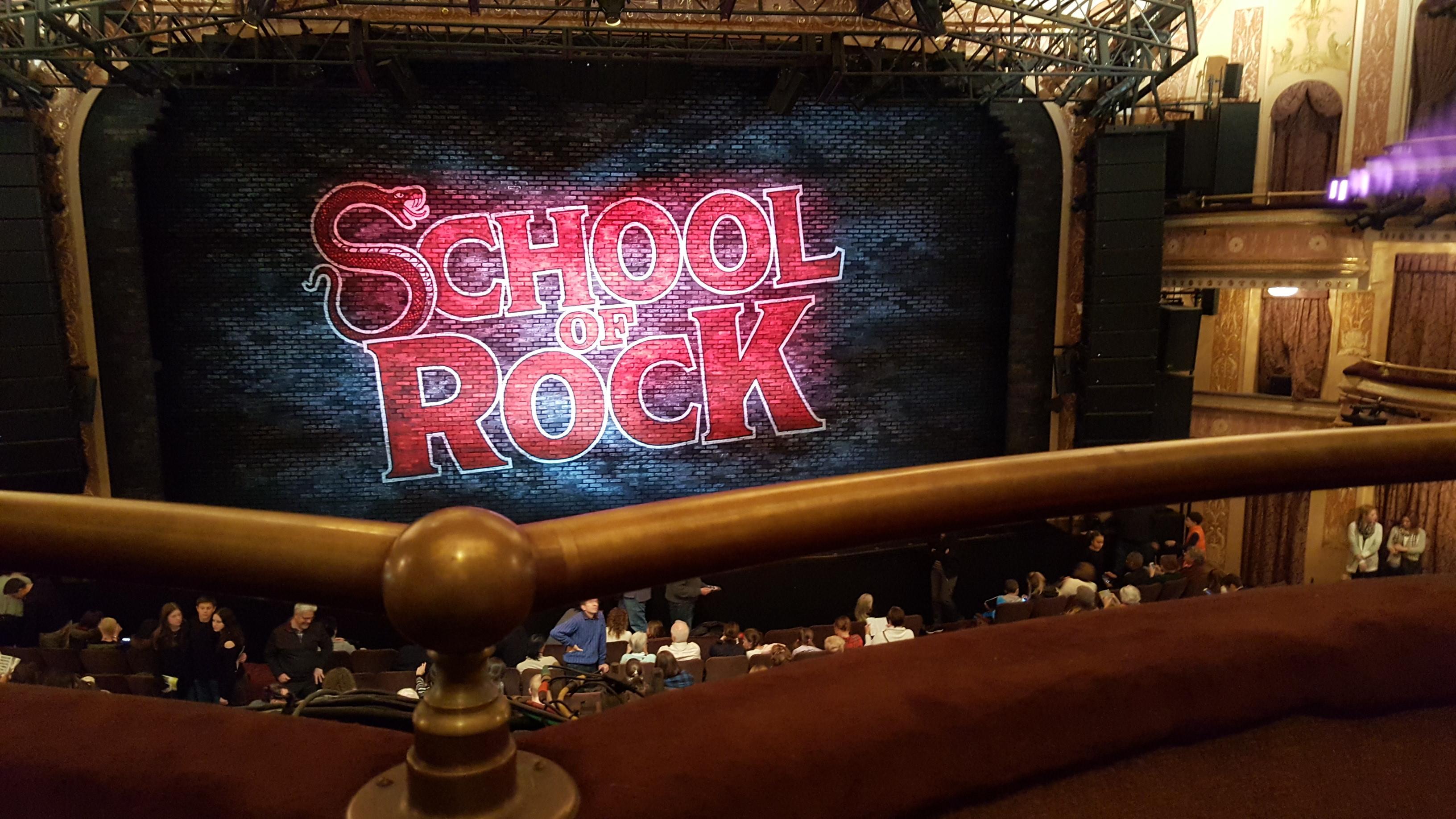 Winter Garden Theatre Section Mezzanine RC Row A Seat 106 & 108