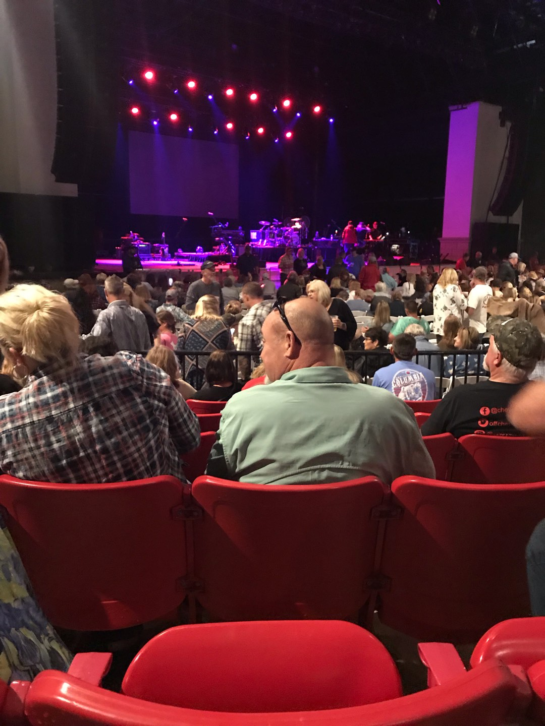 St. Augustine Amphitheatre Section 103 Row F Seat 29