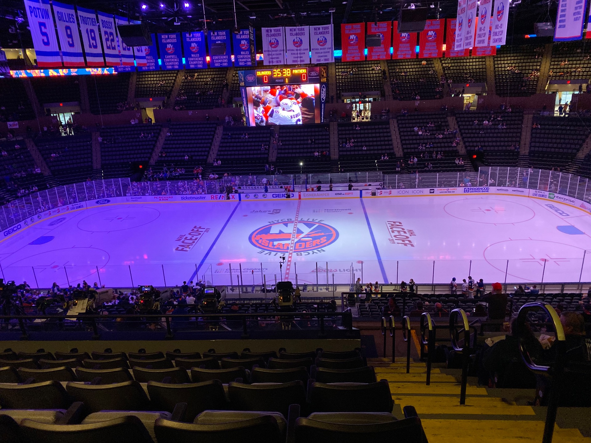Nassau Veterans Memorial Coliseum Section 203 Row 11 Seat 1