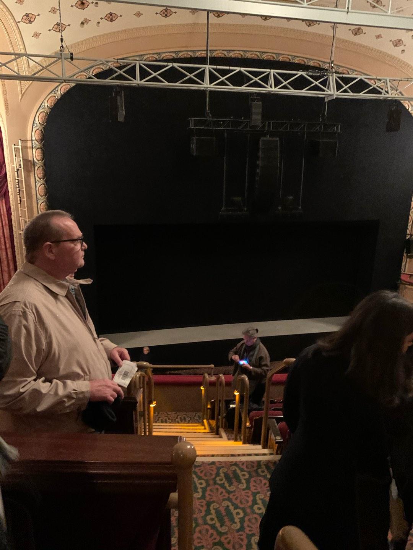 Bernard B. Jacobs Theatre Section Mezzanine L Row F Seat 1
