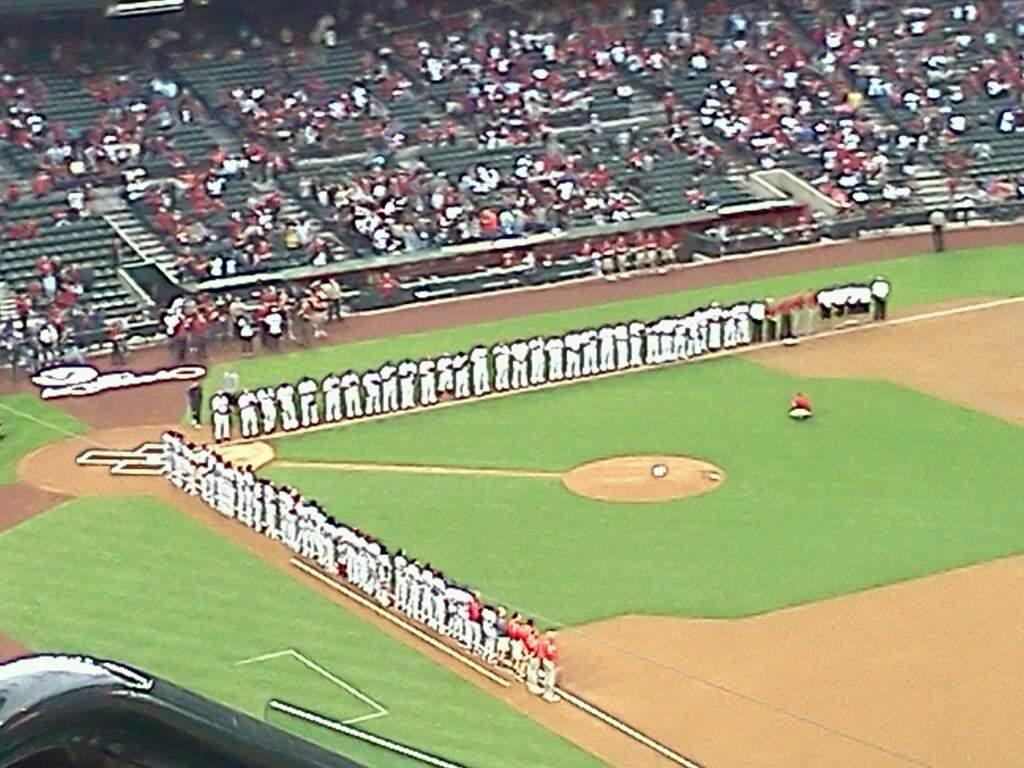 Chase Field Section 302 Row 17 Seat 17