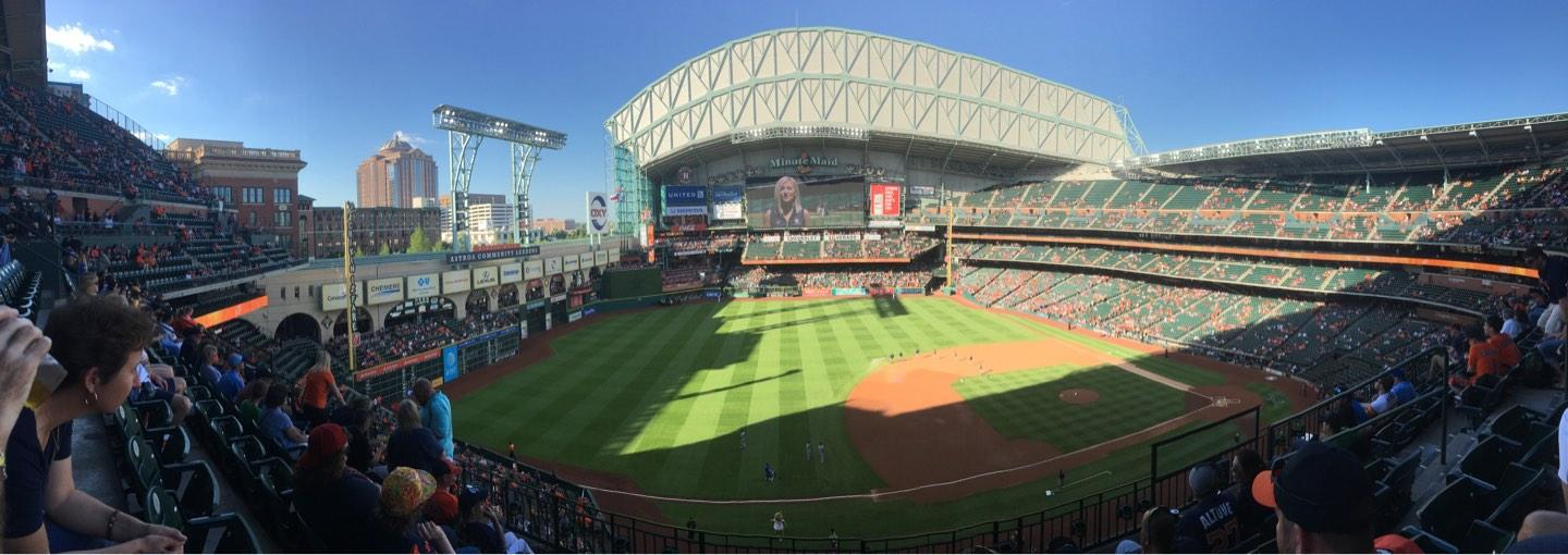 Minute Maid Park Section 310 Row 5 Seat 21