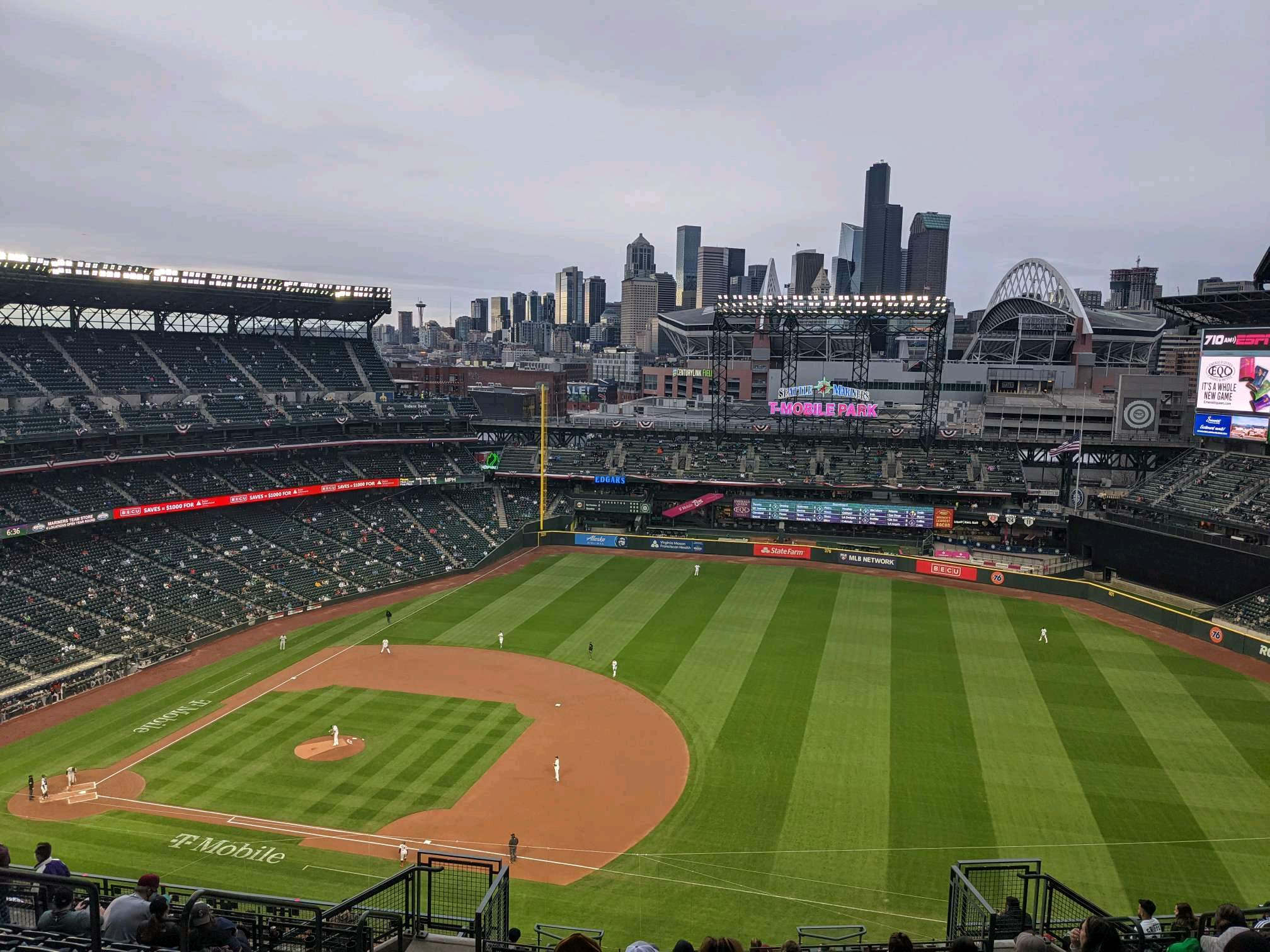 T-Mobile Park Section 320 Row 20 Seat 10