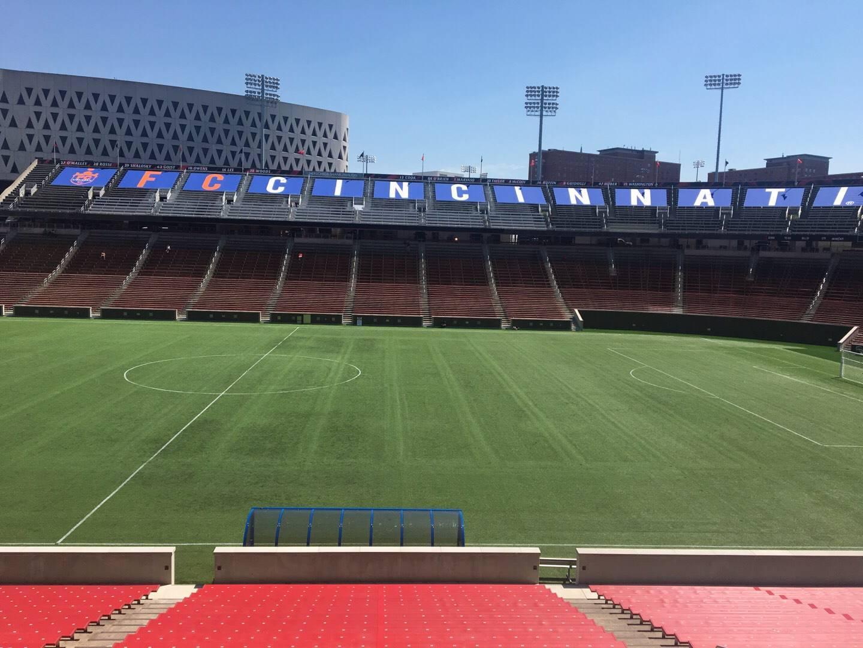 Nippert Stadium Section 121 Row 32 Seat 11