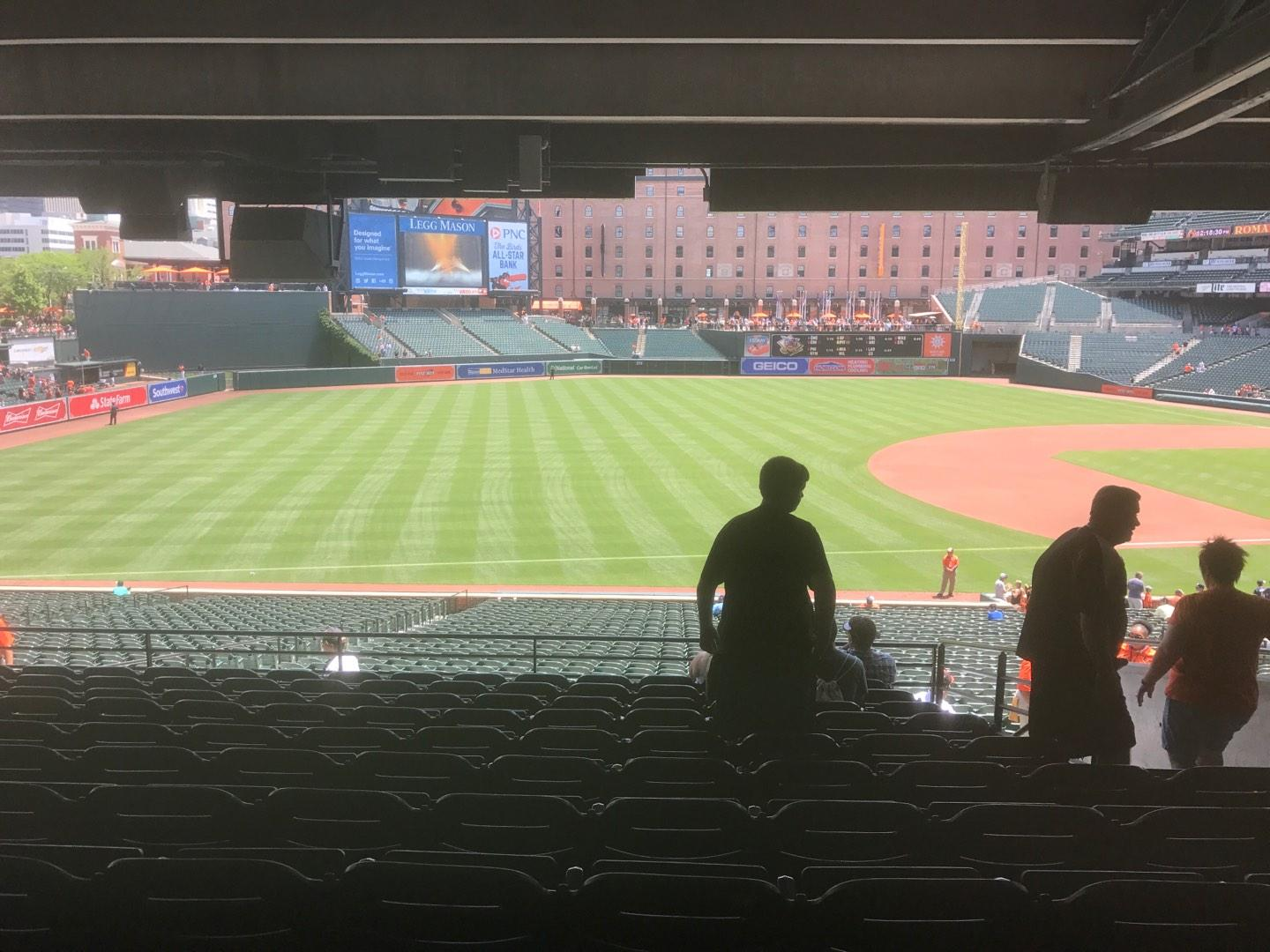 Oriole Park at Camden Yards Section 61 Row 11 Seat 5