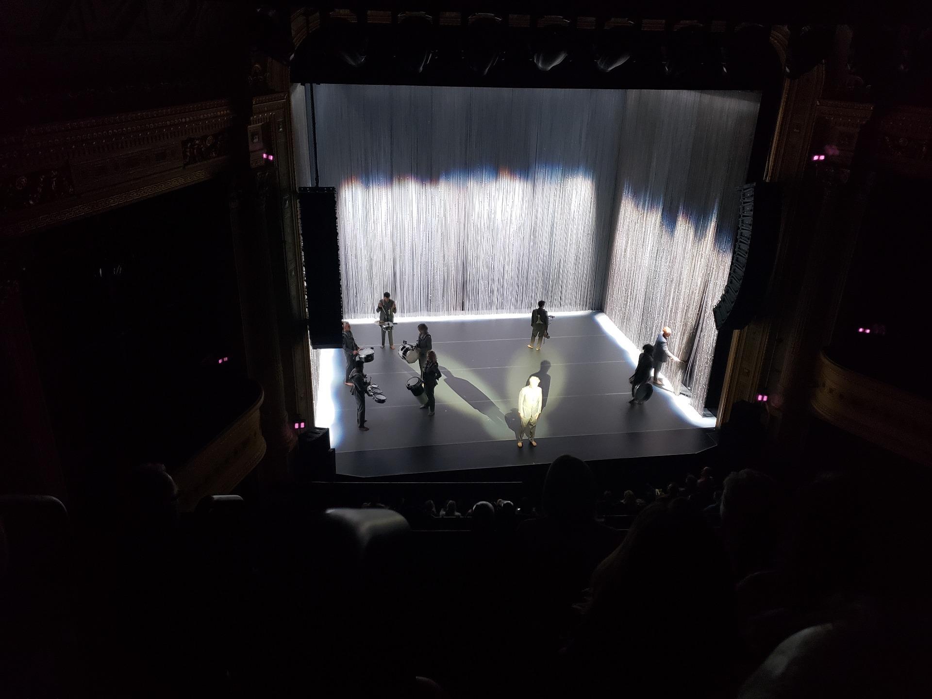 Hudson Theatre Section Balcony C Row D Seat 101