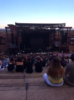 Red Rocks Amphitheatre Section Reserved Row 29 Seat 96