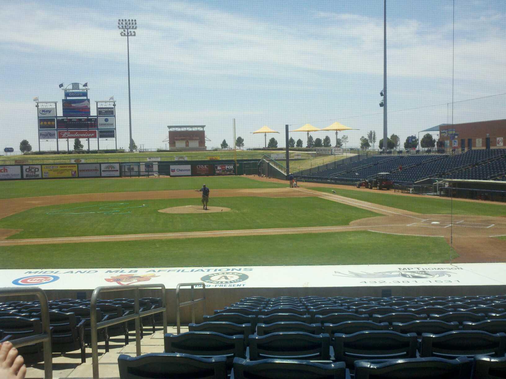 Momentum Bank Ballpark Section 7 Row O Seat 2