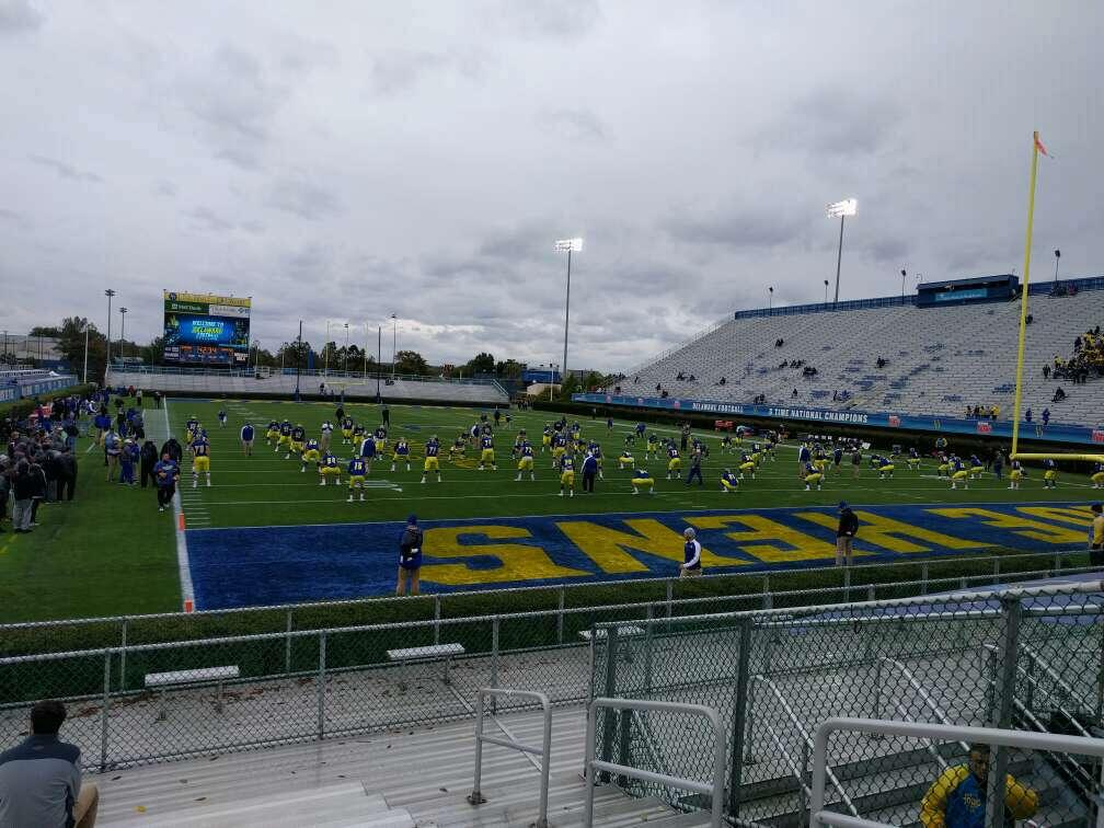 Delaware Stadium Section hh Row l Seat 4