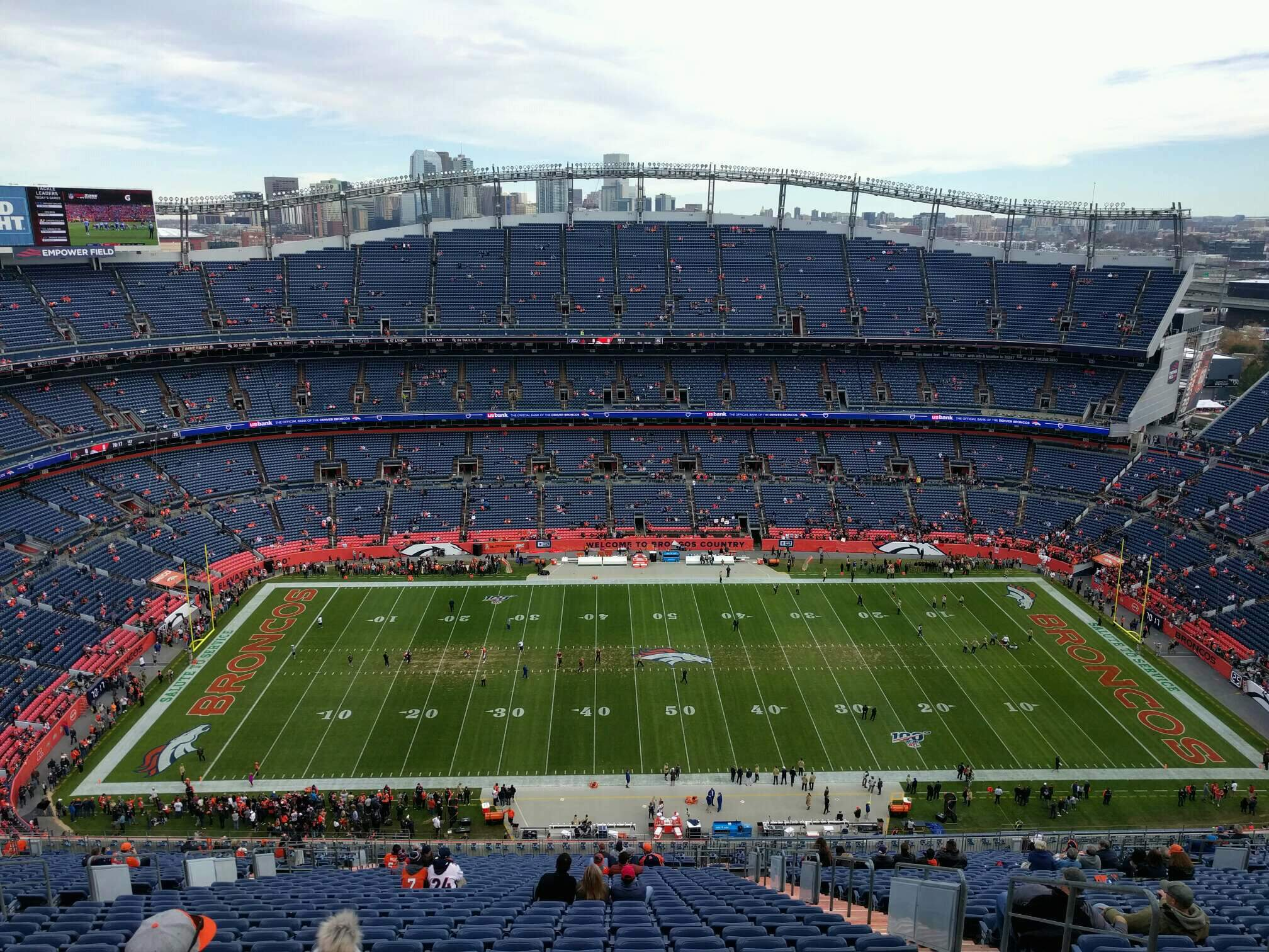 Empower Field at Mile High Stadium Section 509 Row 35 Seat 5