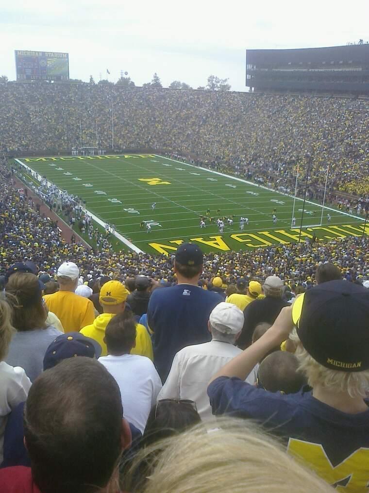 Michigan Stadium Section 38