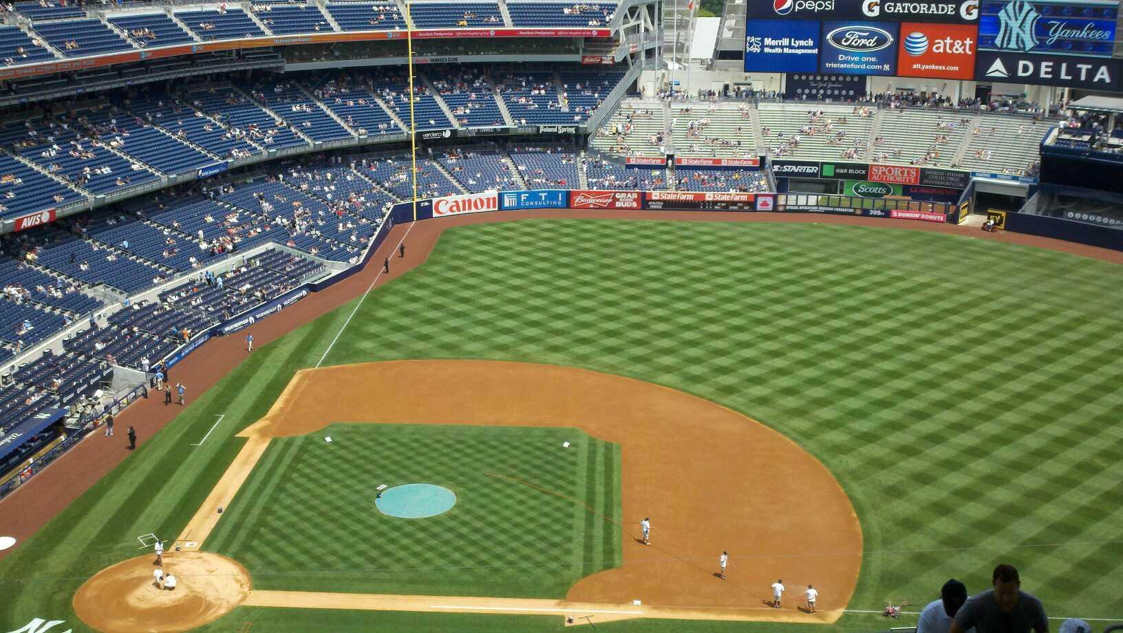 Yankee Stadium, section 416, row 13, seat 9 - New York ...