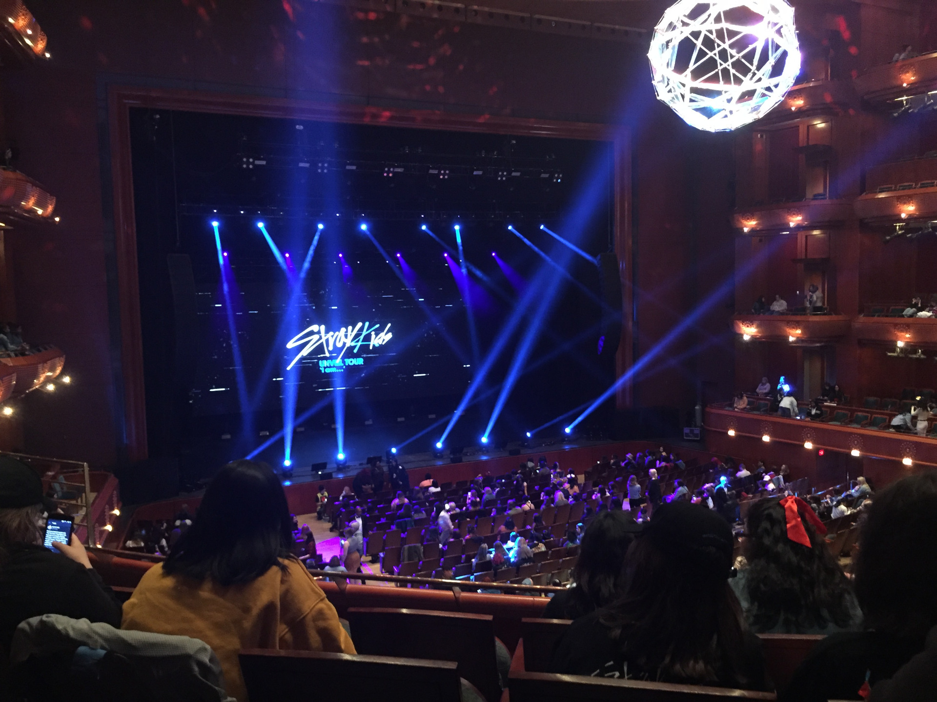 Prudential Hall at the New Jersey Performing Arts Center Section TIER 1 L Row D Seat 19