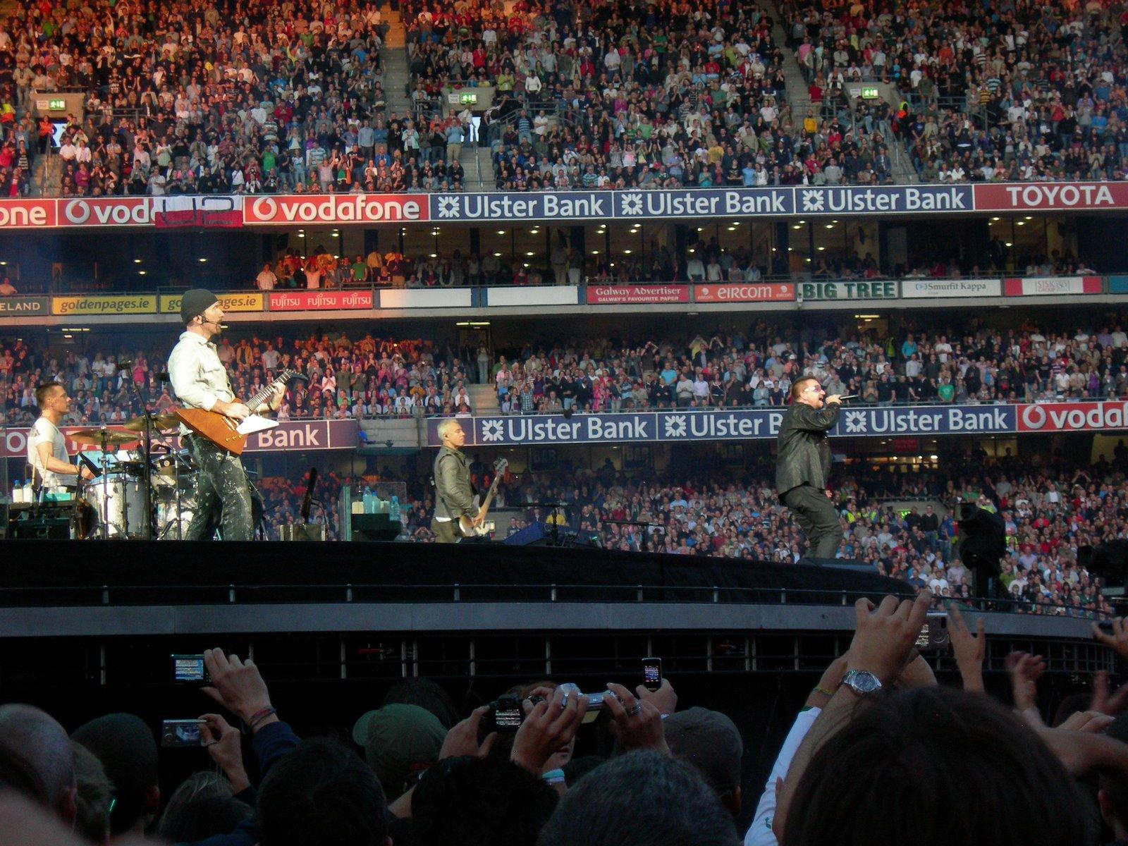 Croke Park Section Field Row Red Zone