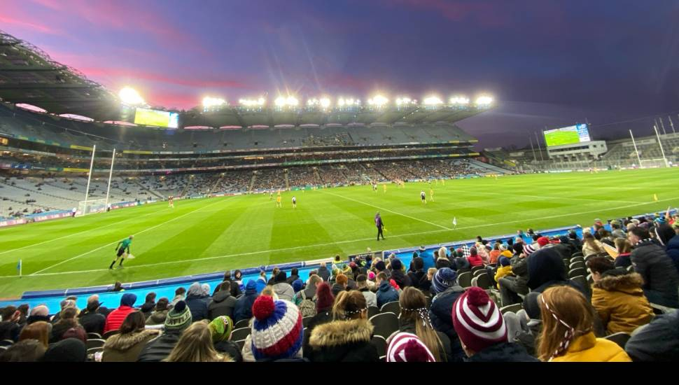 Croke Park,  Section <strong>204</strong>, Row <strong>A</strong>, Seat <strong>87</strong>