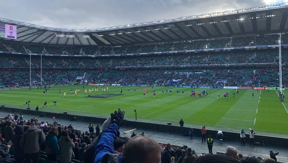 Twickenham Stadium,  Section <strong>122</strong>, Row <strong>22</strong>, Seat <strong>0017</strong>