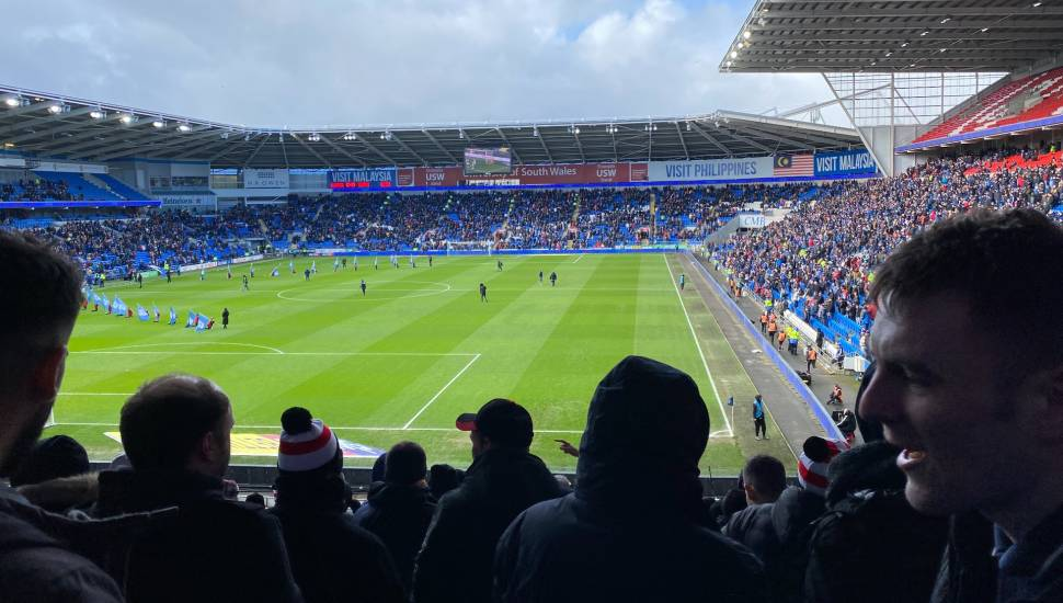 Cardiff City Stadium,  Section <strong>210</strong>, Row <strong>12</strong>, Seat <strong>37</strong>