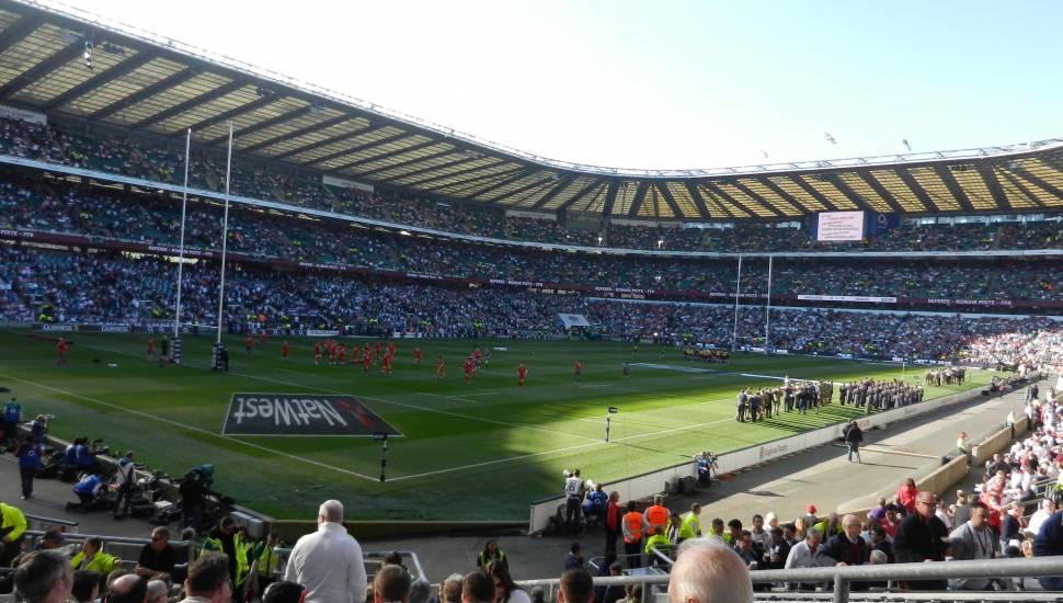 Twickenham Stadium,  Section <strong>501</strong>, Row <strong>12</strong>, Seat <strong>65</strong>