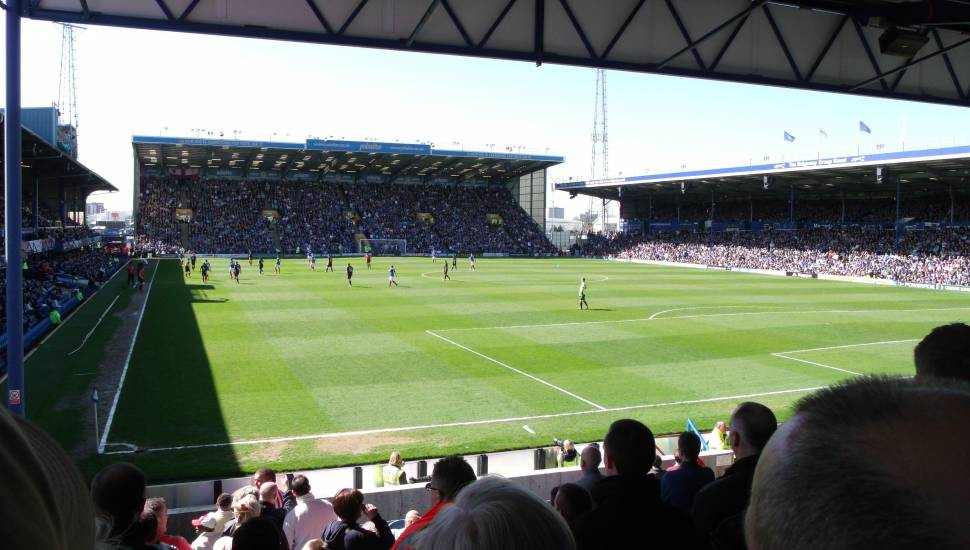 Fratton Park,  Section <strong>501</strong>, Row <strong>13</strong>, Seat <strong>30</strong>
