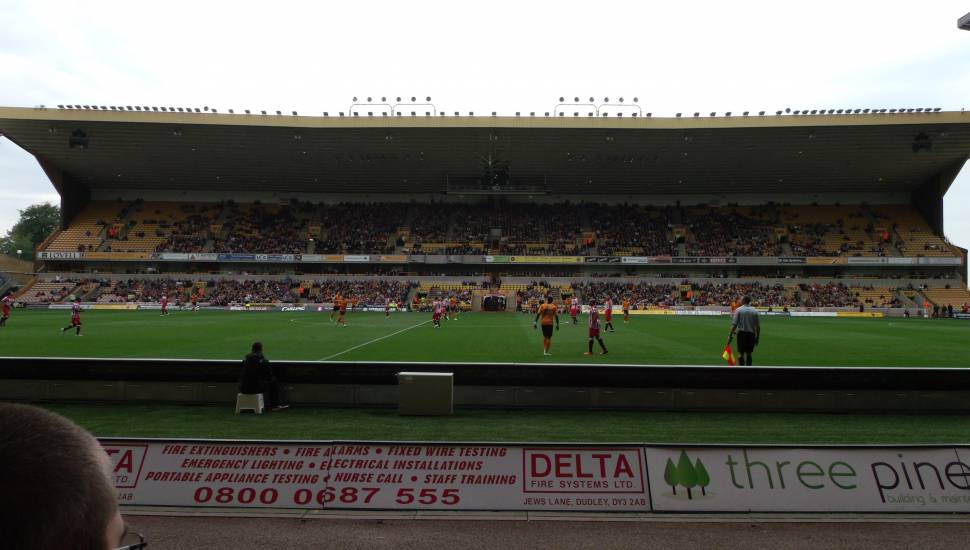 Molineux Stadium,  Section <strong>M</strong>