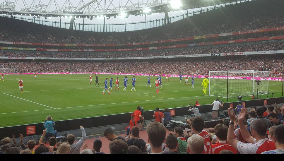 Emirates Stadium,  Section <strong>501</strong>, Row <strong>13</strong>, Seat <strong>30</strong>