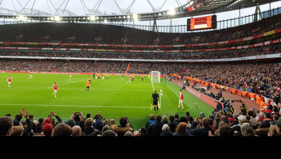 Emirates Stadium,  Section <strong>208</strong>, Row <strong>16</strong>, Seat <strong>69</strong>