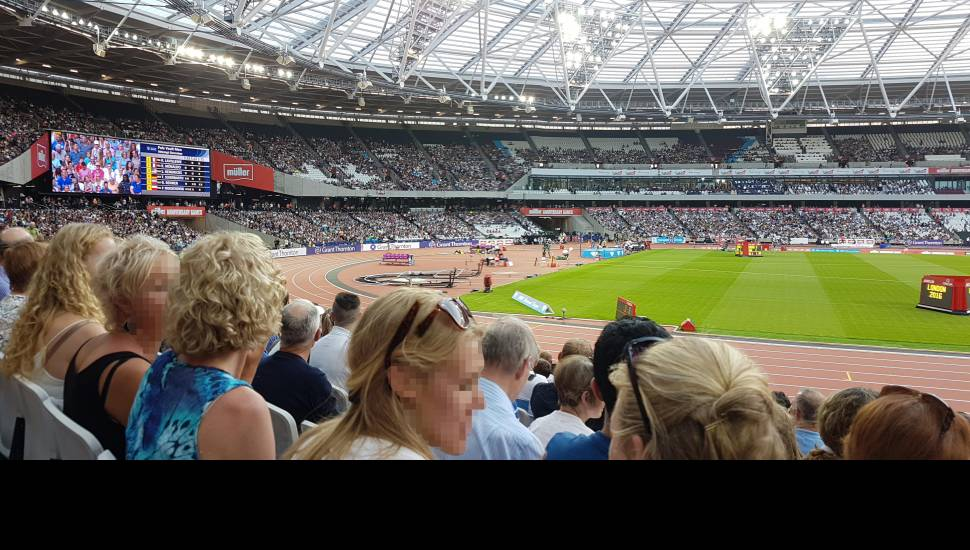 London Stadium,  Section <strong>304</strong>, Row <strong>58</strong>, Seat <strong>0145</strong>
