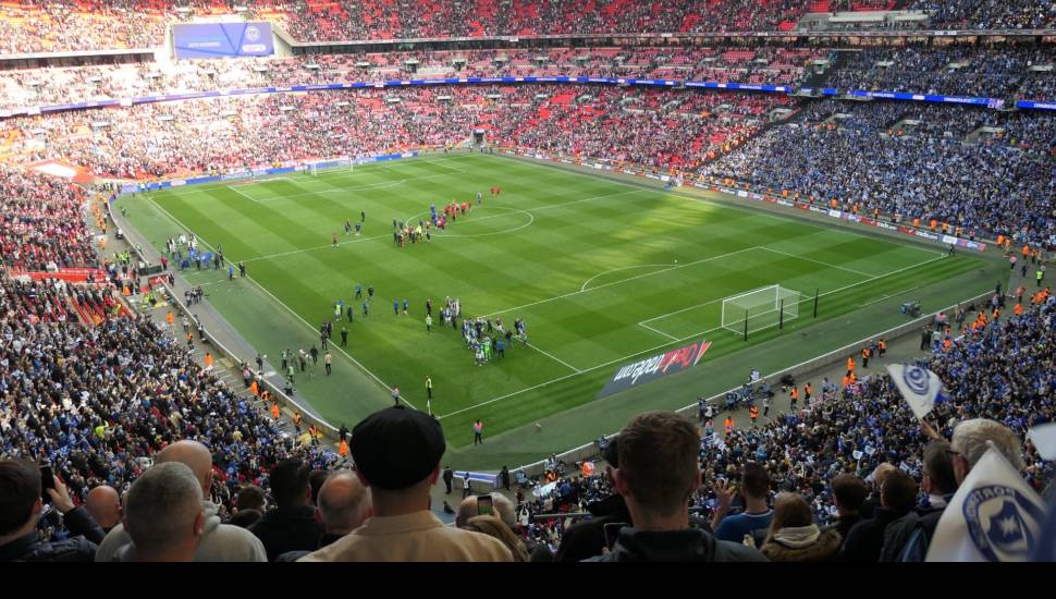 Wembley Stadium,  Section <strong>Tattersalls</strong>