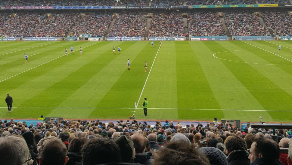 Croke Park,  Section <strong>32</strong>, Row <strong>17</strong>