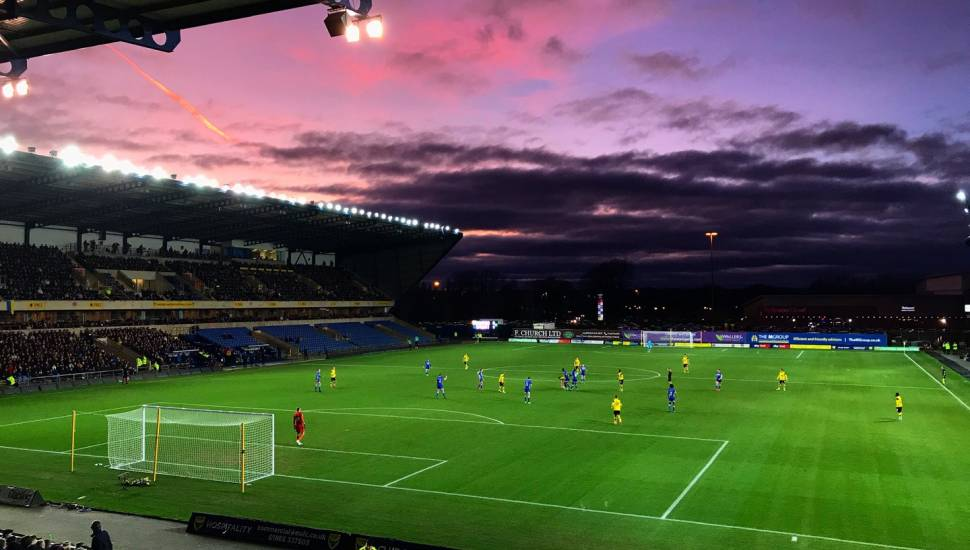 Kassam Stadium,  Section <strong>22</strong>, Row <strong>C</strong>, Seat <strong>192</strong>