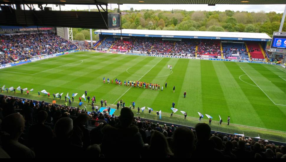 Ewood Park,  Section <strong>521</strong>, Row <strong>33</strong>, Seat <strong>233</strong>