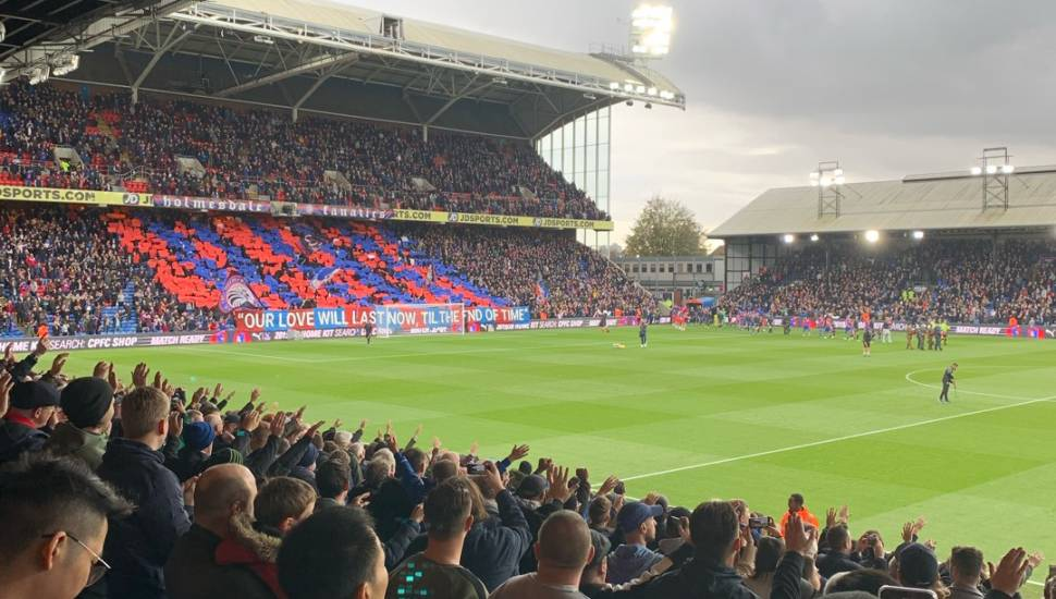 Selhurst Park,  Section <strong>139</strong>, Row <strong>43</strong>, Seat <strong>148</strong>