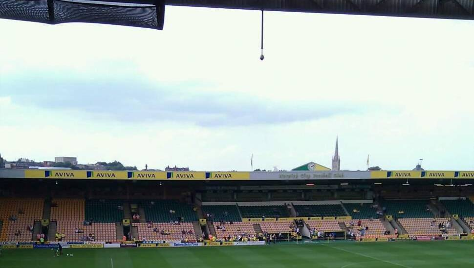 Carrow Road,  Section <strong>237</strong>, Row <strong>K</strong>