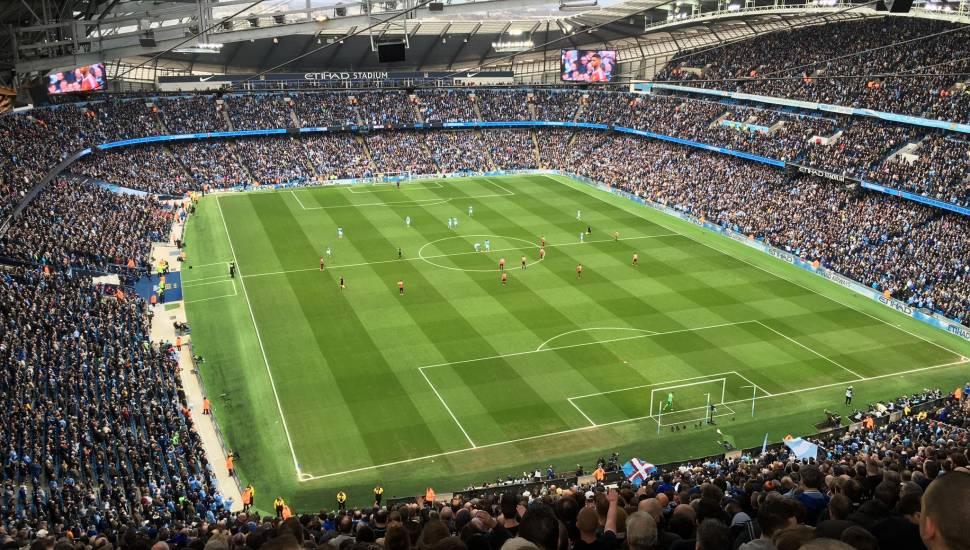 Etihad Stadium (Manchester),  Section <strong>L28</strong>, Row <strong>15</strong>, Seat <strong>14</strong>