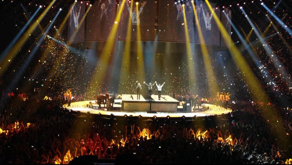 The O2 Arena,