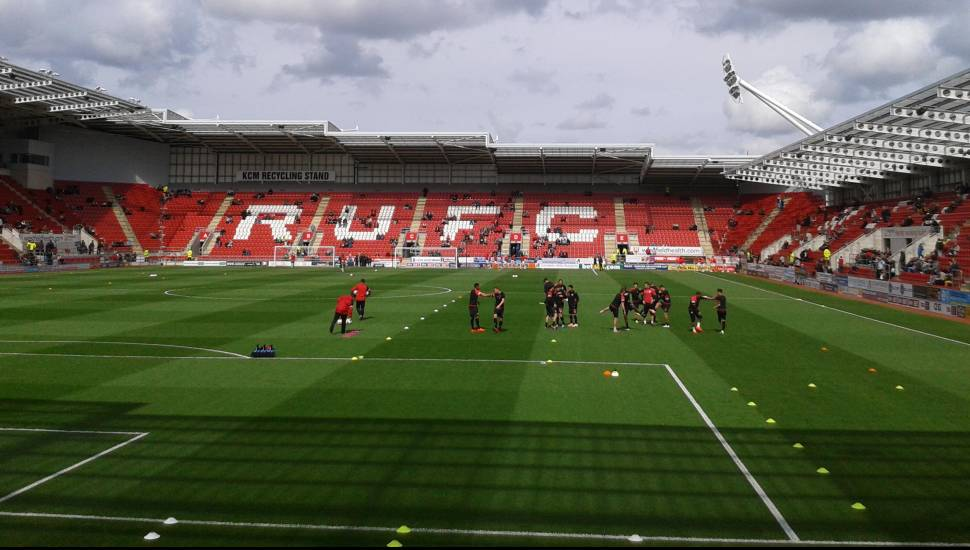 New York Stadium,  Section <strong>South Stand Gangway A</strong>, Row <strong>PP</strong>, Seat <strong>14</strong>