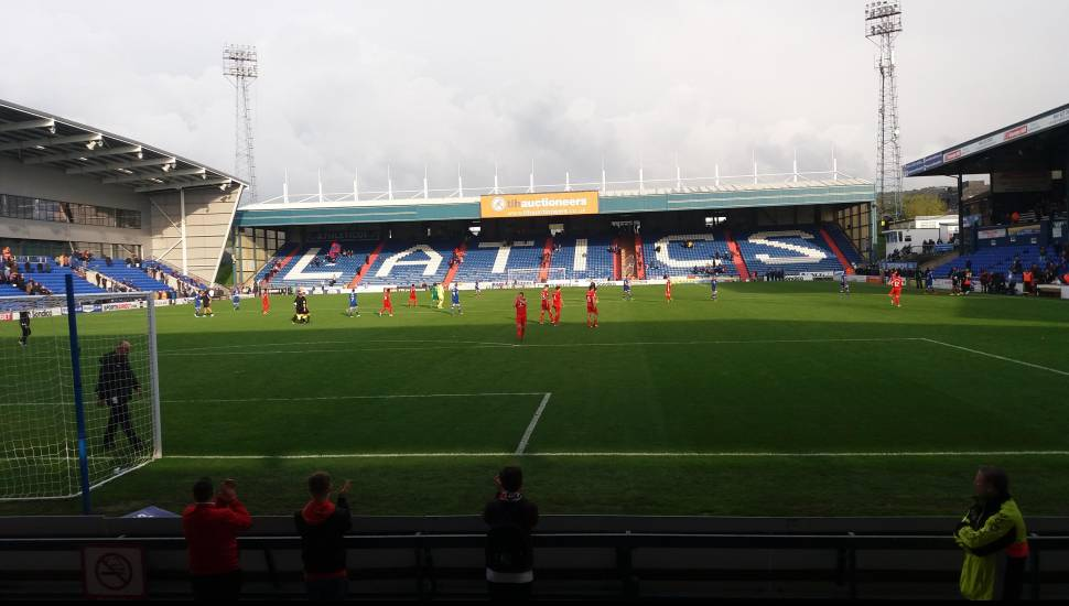 Boundary Park,  Section <strong>235</strong>, Row <strong>58</strong>, Seat <strong>469</strong>