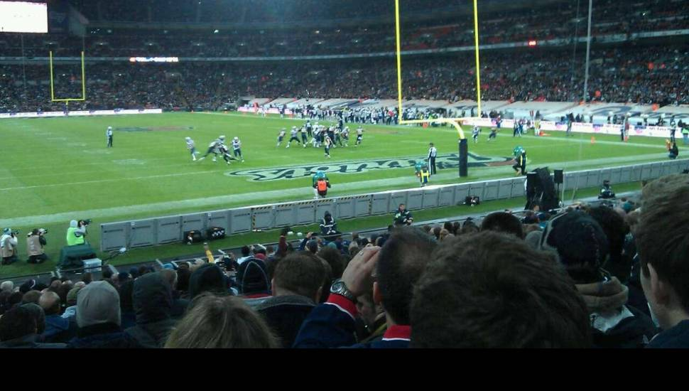Wembley Stadium,  Section <strong>G</strong>, Row <strong>O</strong>, Seat <strong>185</strong>